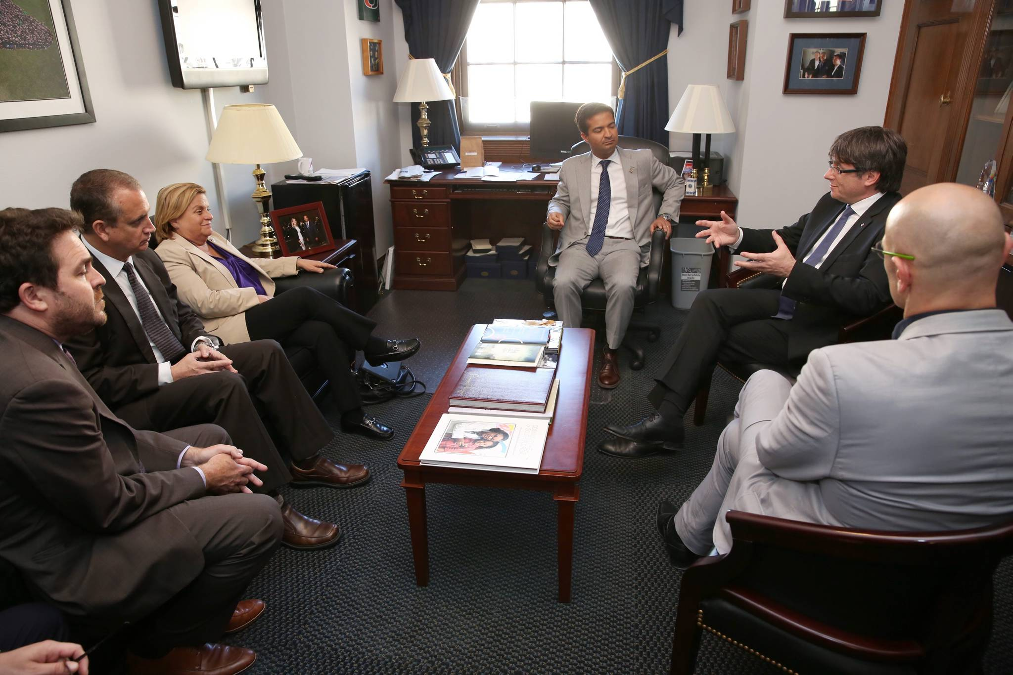 Meeting with Members of the US Congress