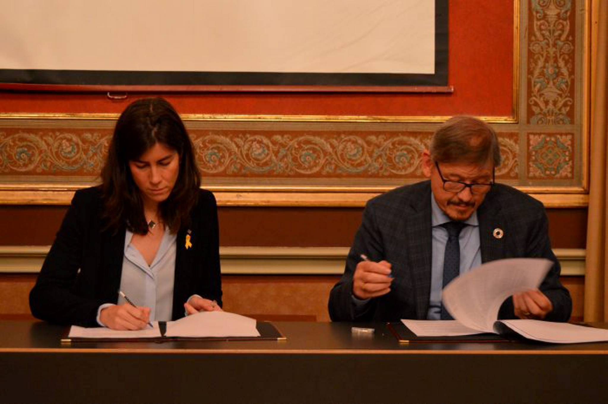 Signing of the Catalonia-Flanders Plan
