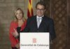 President Mas delivers speech on Catalan 'V'
