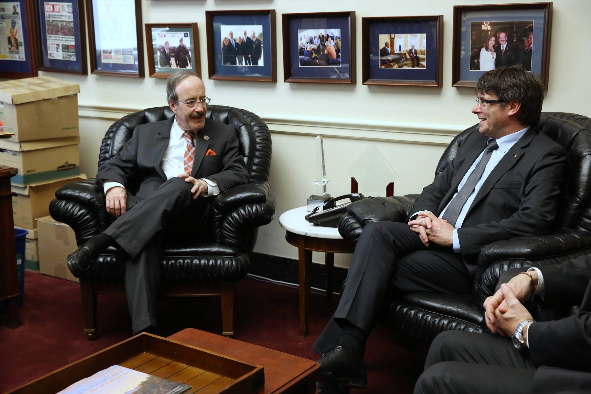 Meeting with Rep. Eliot Engel
