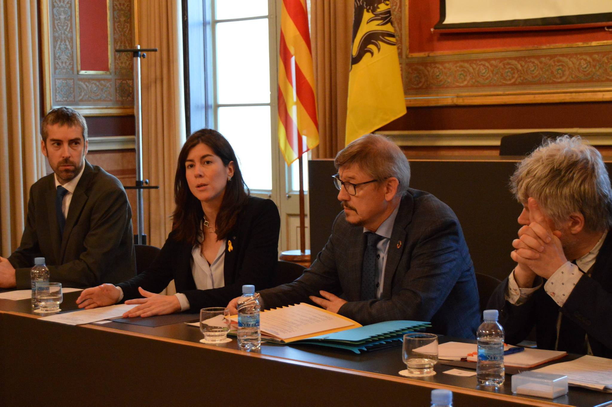 Signing ceremony for the Catalonia-Flanders Plan