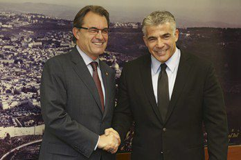 President Mas and Minister Yair Lapid